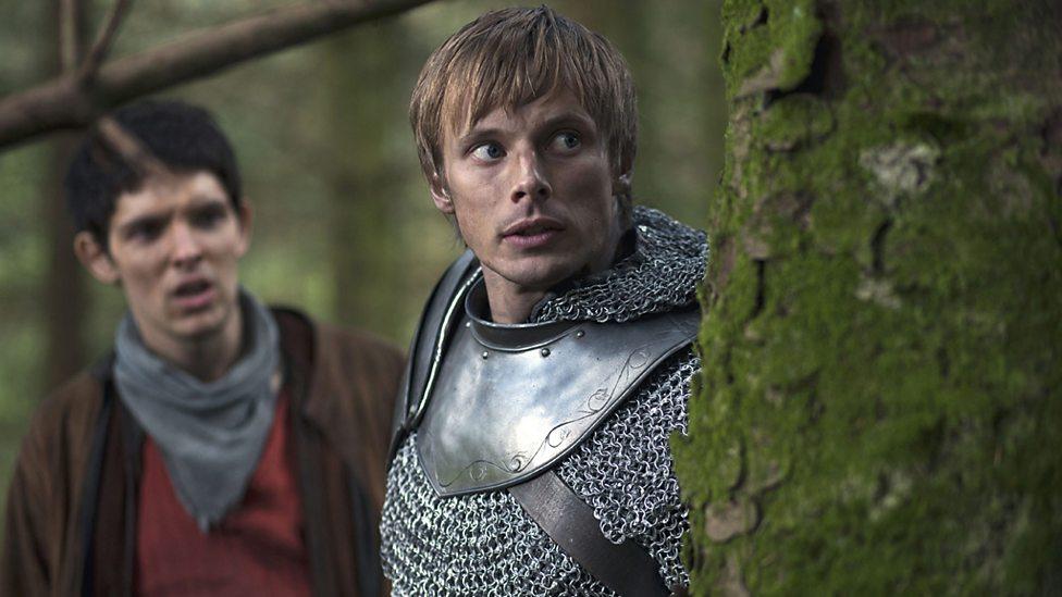 c43a7c4b12b BBC One - Merlin and King Arthur - Merlin