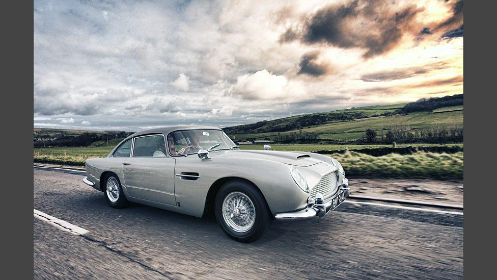 BBC Aston Martin DB The Famous Five - 1965 aston martin db5