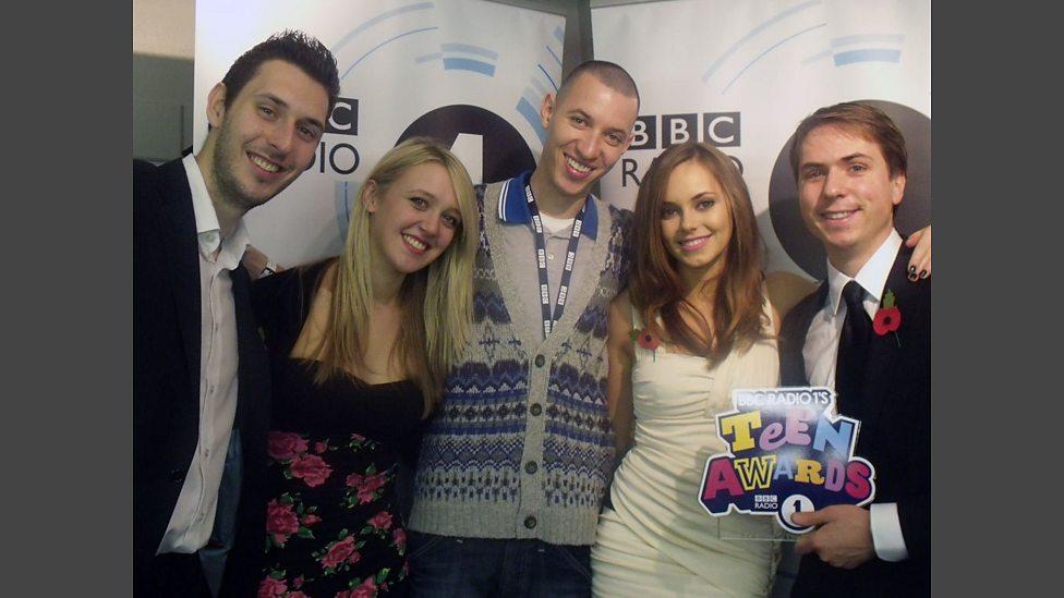bbc best tv show award winners the cast of the inbetweeners