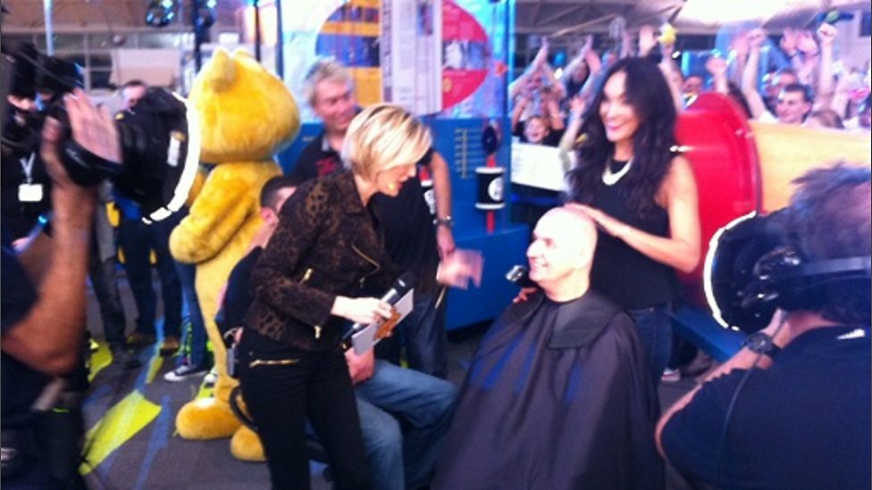 Bbc Radio Solent Haircut Sir Neil Sackley Bbc Children In Need