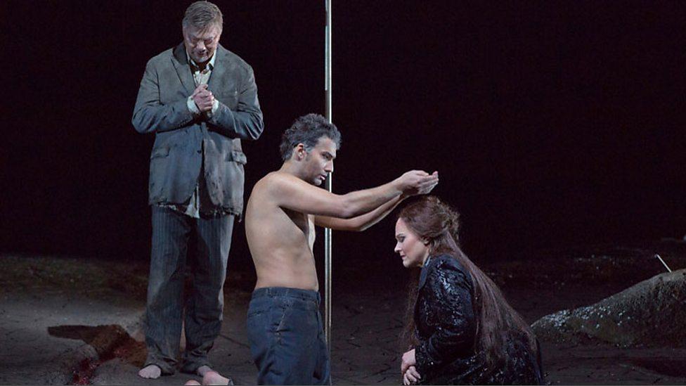 Ren Pape As Gurnemanz Jonas Kaufmann The Title Character And Katarina Dalayman Kundry In Wagners Parsifal