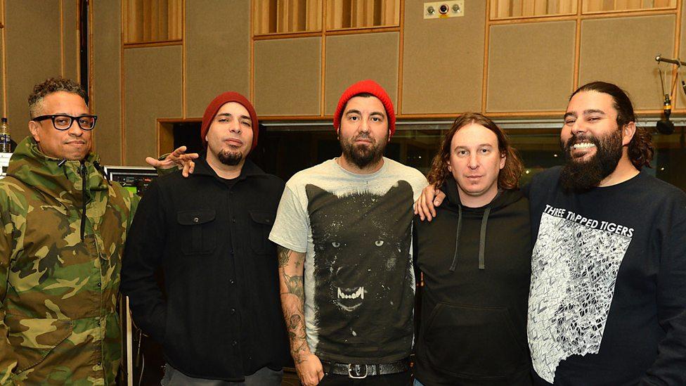bbc radio 1 deftones in session radio 1 s rock show with daniel