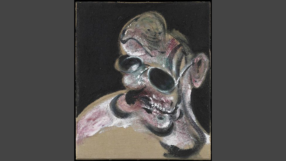 bbc radio 4 portrait of man with glasses by francis bacon front