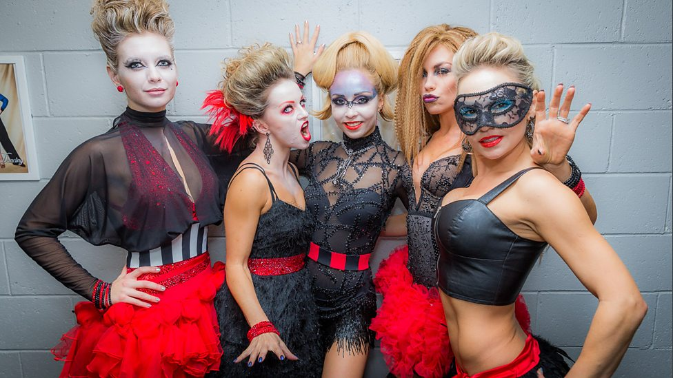 Bbc One Most Of The Strictly Ladies Were Happy With The Red And
