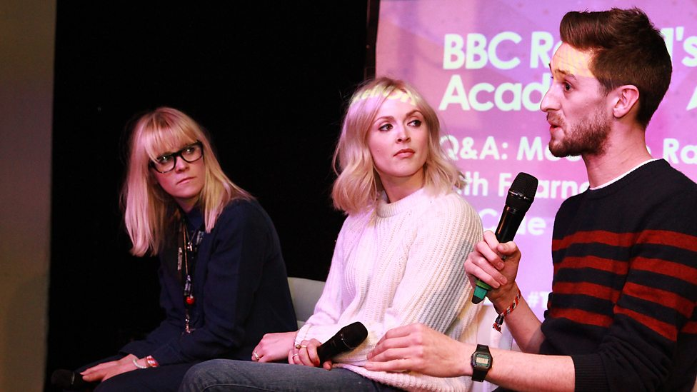 Edith Fearne And Ally Talk At Radio 1s Academy In Glasgow