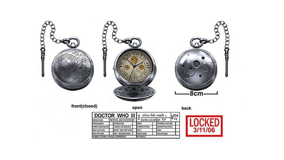The Doctors Fob Watch