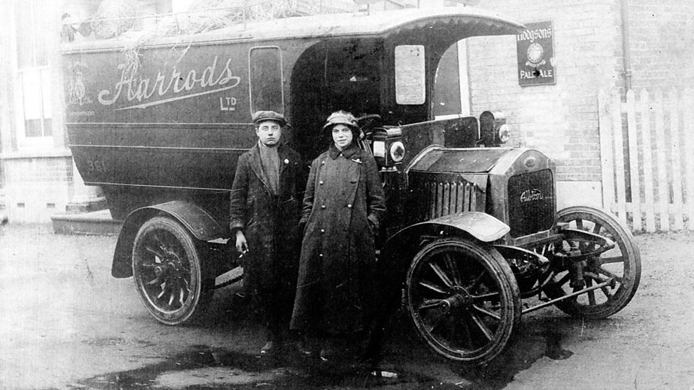 BBC Two - A woman driver of the First World War (Harrods Archive ...