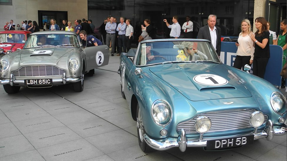 Bbc Famous 5 Number 1 1964 Aston Martin Db5 Convertible
