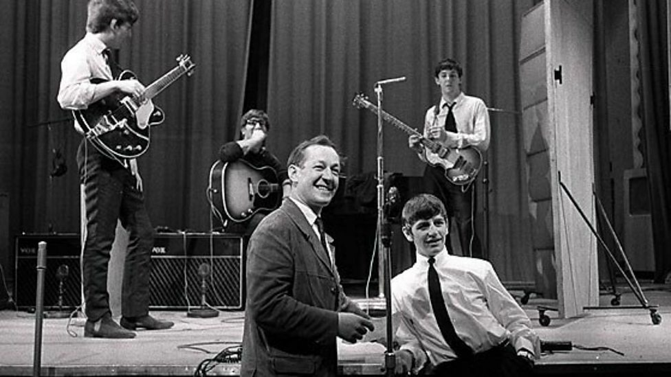 Brian Matthew With The Beatles