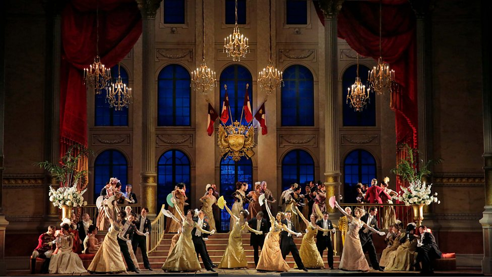 A Scene From Lehrs The Merry Widow