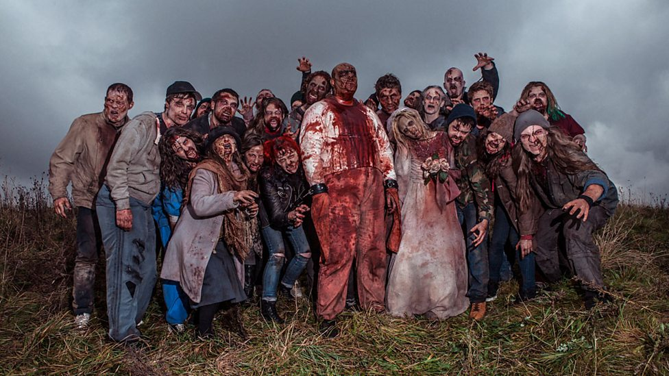 bbc three a herd of zombies i survived a zombie apocalypse