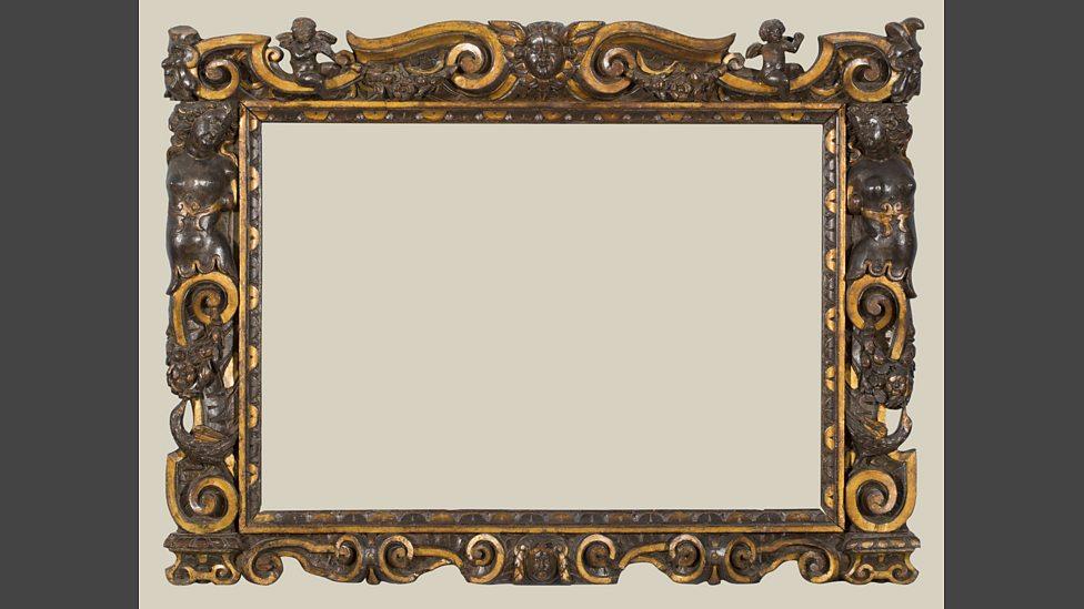 BBC Radio 3 - A carved and partially gilded Sansovino frame, 1560-80 ...