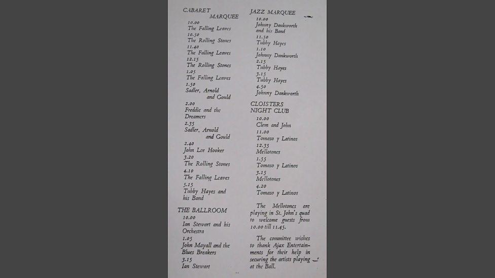 PHOP Adrian's Uni gig listing