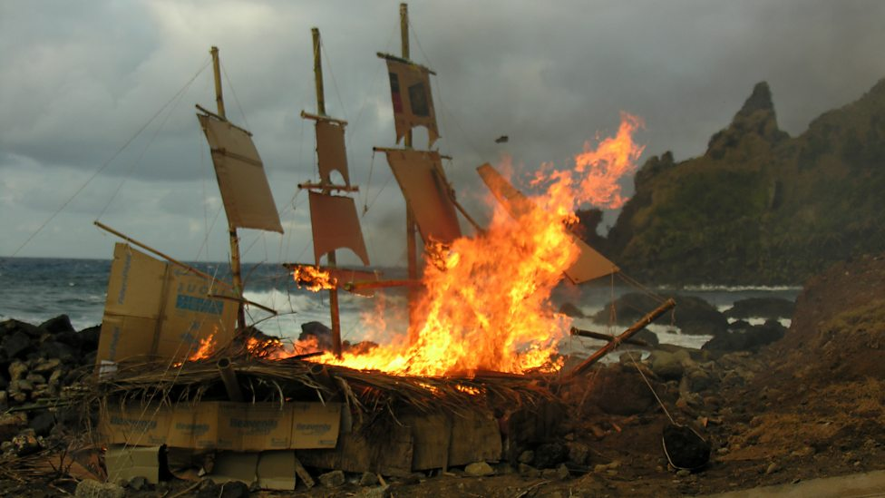 bbc four pitcairn island burning of the bounty britain s