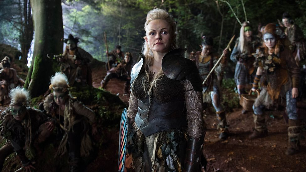 Maxine Peake as Titania in A Midsummer Night's Dream
