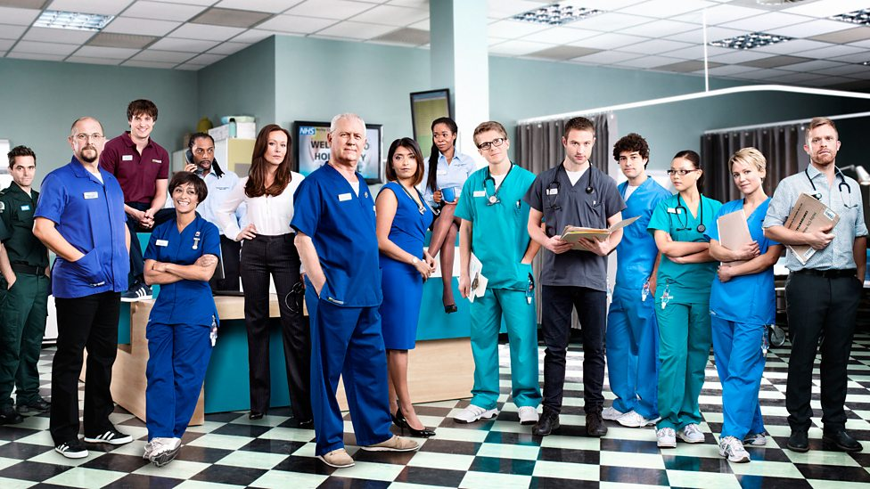 bbc one 2014 series 29 cast casualty memories of casualty