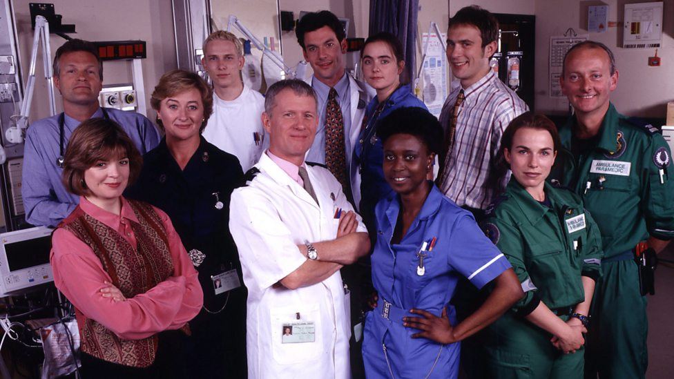 bbc one 1996 series 11 cast casualty memories of casualty