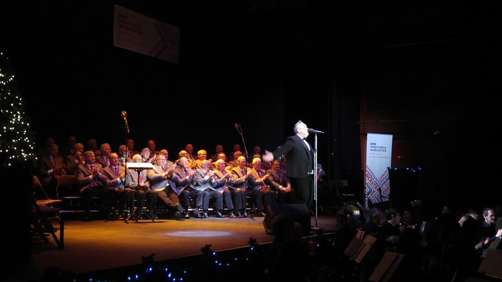 bbc hereford worcester celebration of christmas 2016