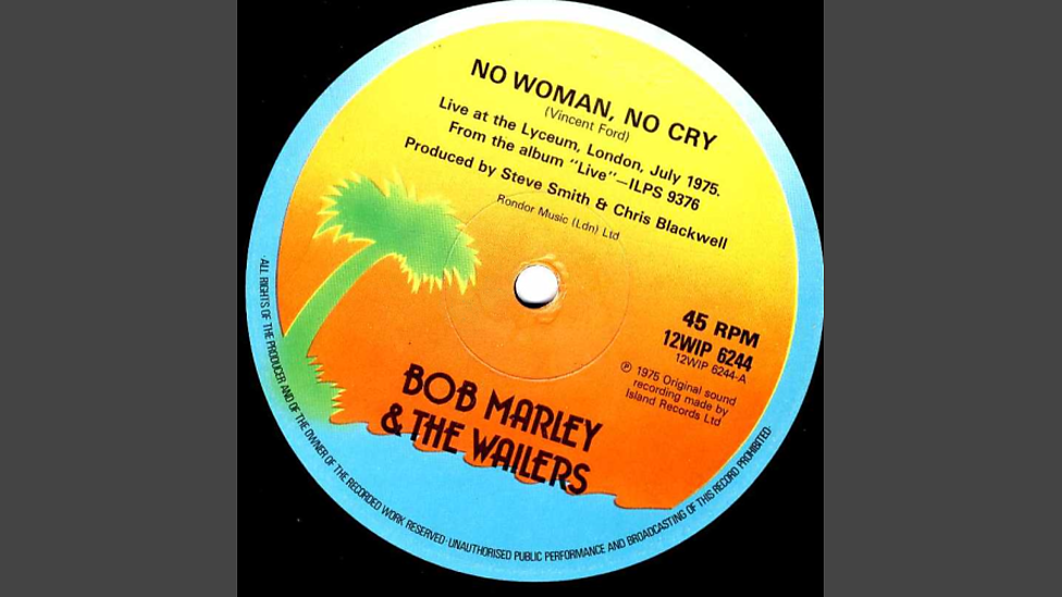 Bbc Bob Marley The Wailers No Woman No Cry Johnnies Jukebox
