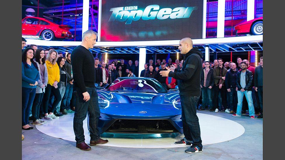Chris Harris And Matt Leblanc Discuss The Ford Gt
