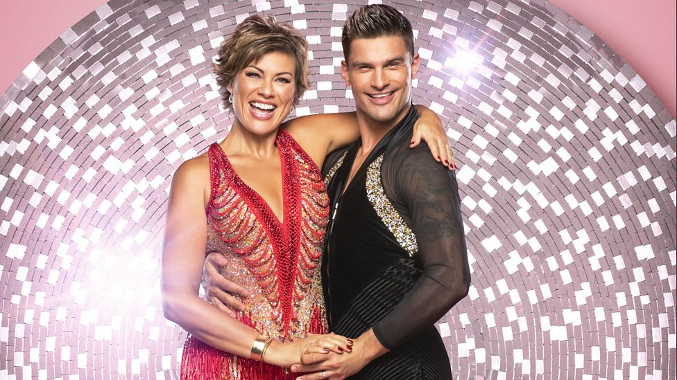 Kate Silverton and Aljaz Skorjanec
