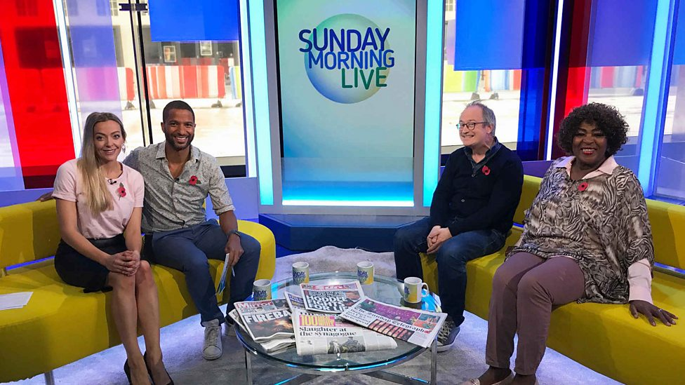 bbc one behind the scenes of episode 19 sunday morning live