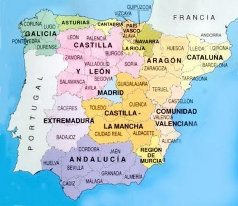 Map Of Spain La Coruna.Bbc Radio 4 The Invention Of Spain Episode 1 Images From The