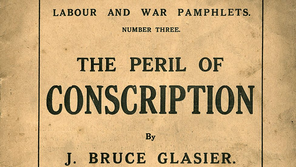 The peril of conscription pamplet