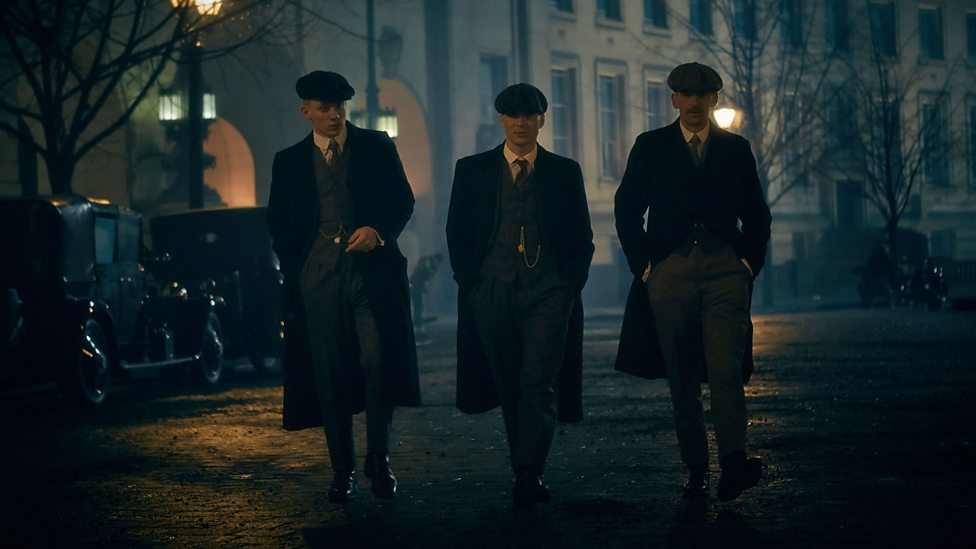 The Peaky Blinders in their famous Peaky Blinders Hats | Image Courtesy of BBC