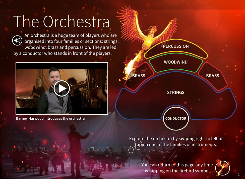 BBC - Ten Pieces Guide to the Orchestra Interactive Ebook - Barney