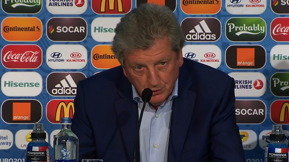 Hodgson resigns after England defeat
