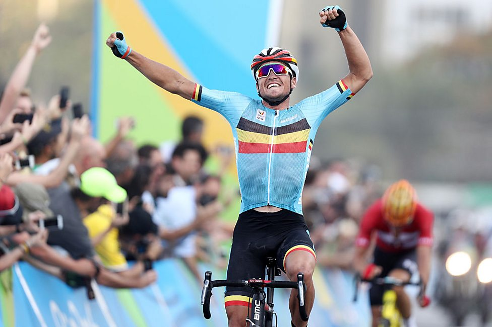 Rio 2016 Olympics  Belgium s Greg van Avermaet wins in eventful road ... 4f34a32db