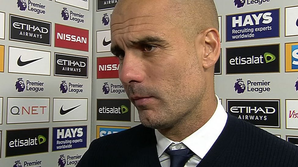 Manchester City 1 1 Everton Guardiola Sad For Players After Draw