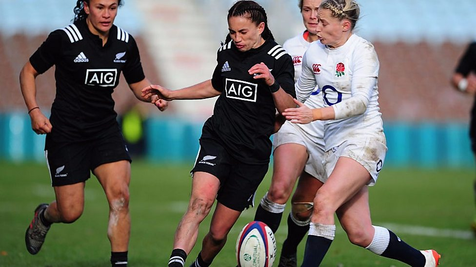 England 20-25 New Zealand  Red Roses lose as Rochelle Clark sets ... e8fd96ef79