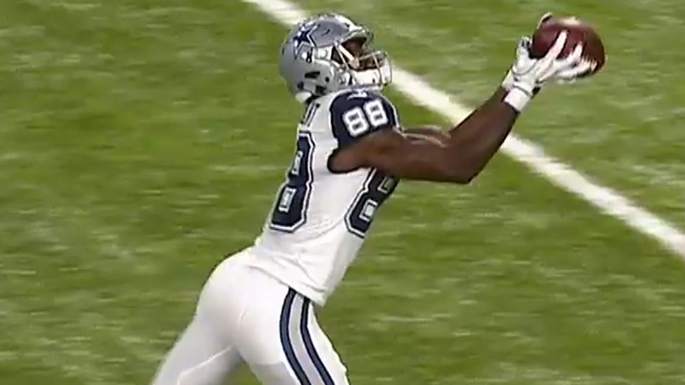 Dallas Cowboys 17 15 Minnesota Vikings Dez Bryant Catch