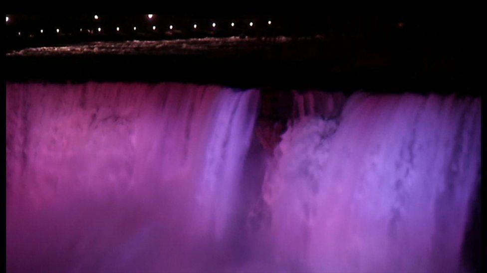 Niagara Falls gets a bright makeover