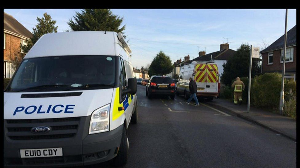 Two feared dead in car on estate