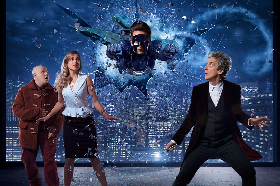 Doctor Who's 'spectacular' superhero special