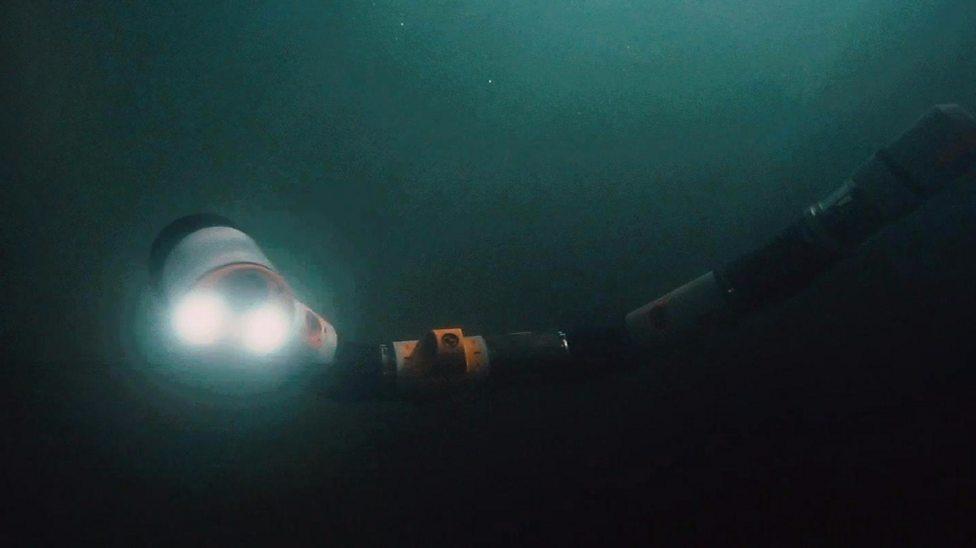 Underwater snake robot undergoes tests