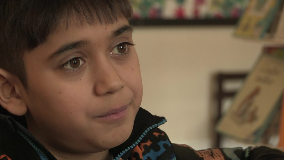 From Syria to Sweden: One boy's journey