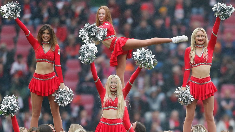 Five fun facts about cheerleading
