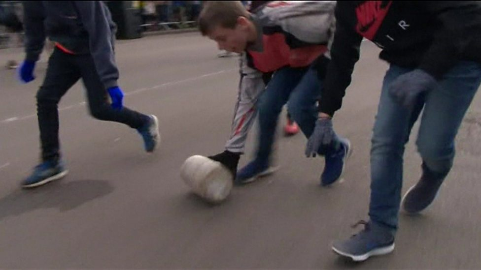 Brie-lliant Cheese Rolling Championship