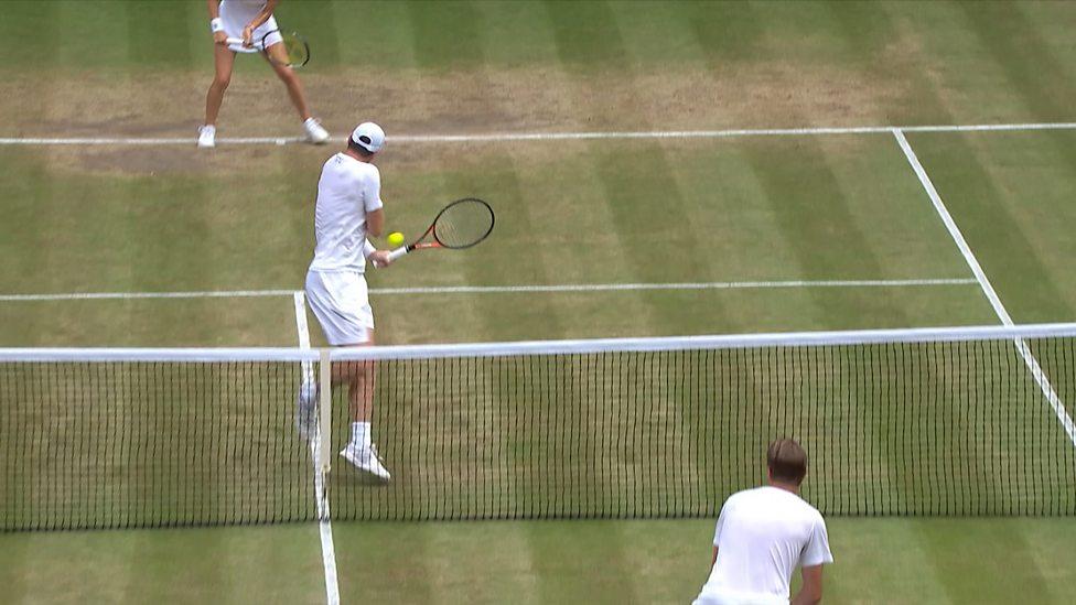 Wimbledon 2017: Remarkable 'reverse winner' from Jamie ...