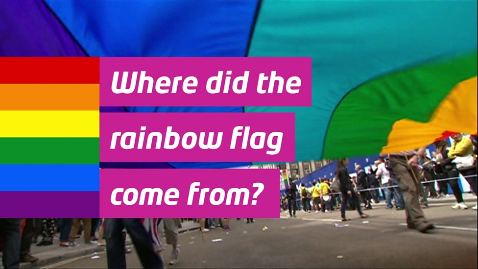 Where does the rainbow flag come from?