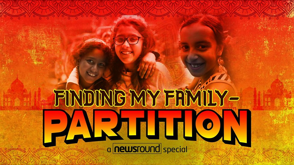 Finding My Family - Partition: A Newsround Special
