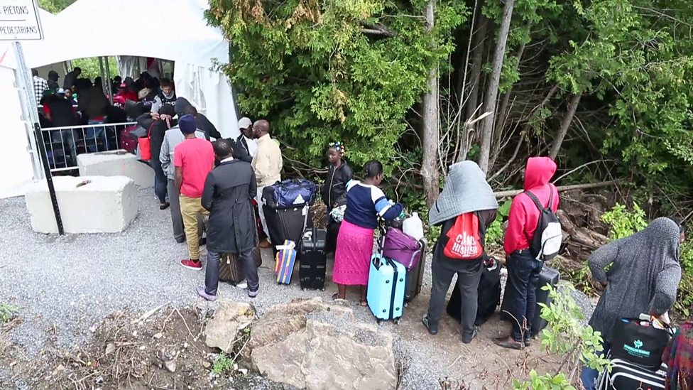 Why are these migrants fleeing the US?