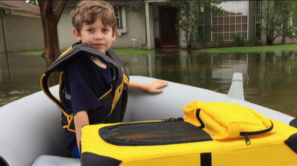 'It's a scary experience': Kids react to Houston floods