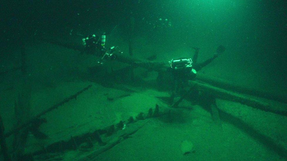 Scientists find 1,000-year-old shipwrecks