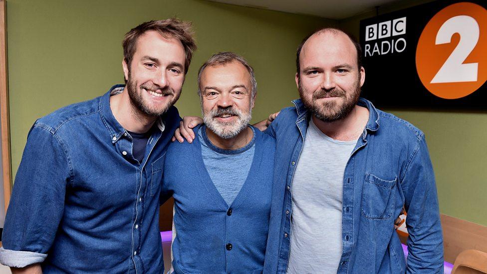 Rory Kinnear and Graham Norton on BBC Radio 2