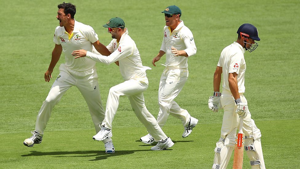 Listen Cook Falls Early In First Ashes Test
